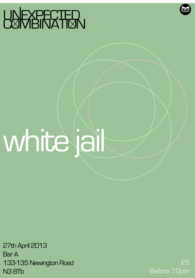 White Jail Flyer